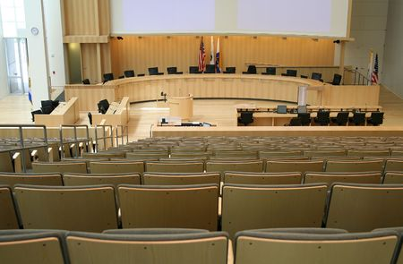 town halls: City council meeting room