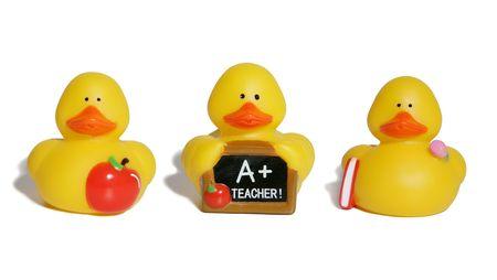 themed: Education themed ducks