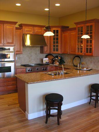 residencial: Kitchen interior
