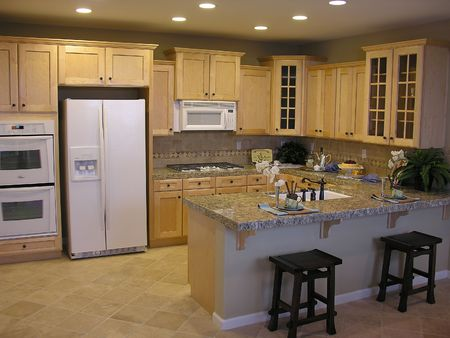 residencial: Kitchen home interior
