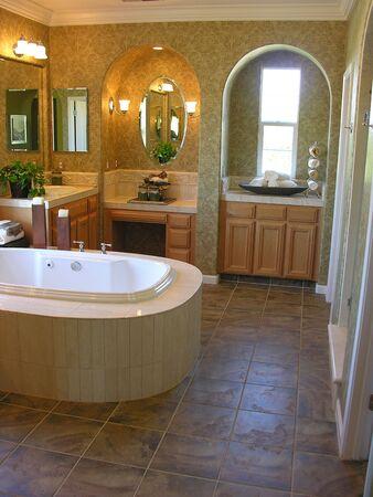 Classy interior bathroom