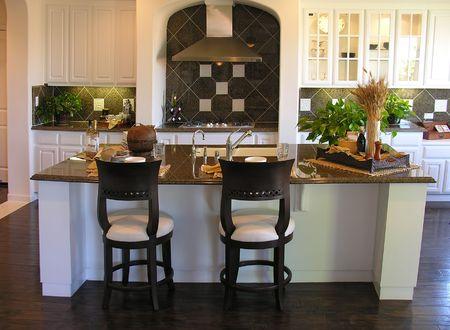 Contemporary kitchen interior Stock Photo - 498659