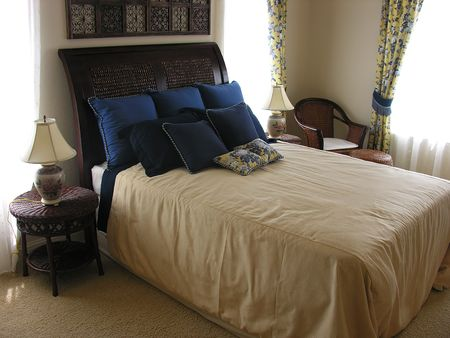 Residential interior bedroom photo