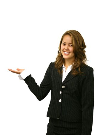 A pretty business woman making a presentation Stock Photo - 603446