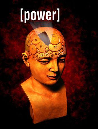 potentiality: Un modelo de la psicolog�a destacando la zona de poder