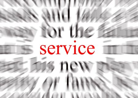 courtoisie: Une image repr�sentant une conception ax�e sur le service Banque d'images
