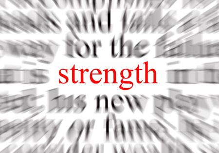 A conceptual image representing a focus on strength