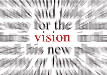 A conceptual image representing a focus on vision
