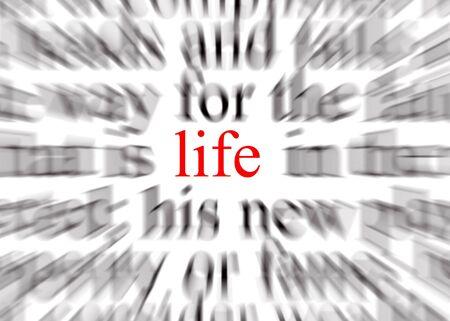 actuality: Offuscata testo con particolare attenzione alla vita