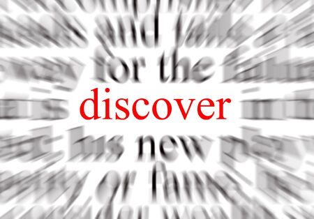 discover: A conceptual image representing a focus on discover