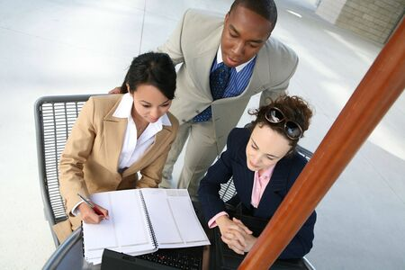 A diverse business group or team with several nationalities Stock Photo - 1356259