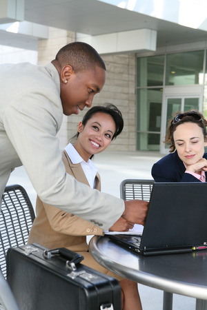 A diverse business group or team with several nationalities Stock Photo - 1365679