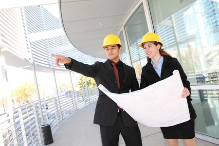 hard worker: Un gruppo di lavoro pi� attraente per le imprese di costruzione in cantiere