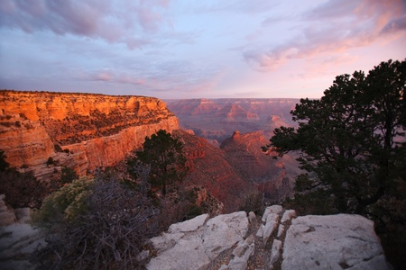 nevada: Sunset view of the Grand Canyon National Park