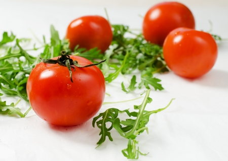 roquette: Tomatoes with roquette