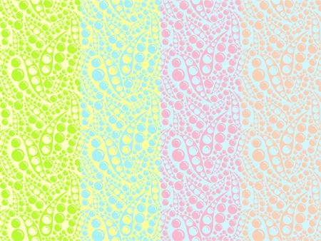 Set of pale colors. Abstract colorful bubbles, multicolor pattern for textile, prints, wallpaper etc.