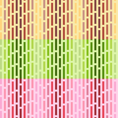 Set of vector seamless patterns. Simple gradient abstract ornament. Can be used as wrapping paper, web page background, wallpaper, fabric, etc. In EPS