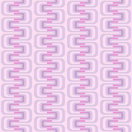 Seamless pattern with geometric waves. Abstract retro ornament for fabric, web page background, wallpaper, wrapping paper etc. In EPS