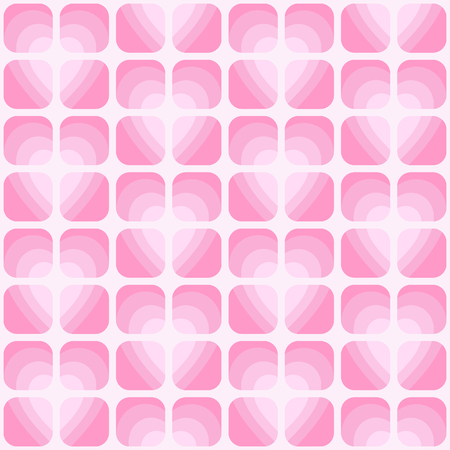 Valentine's day vector seamless pattern. Flying hearts and spirit of love ornament for fabric, web page background, wallpaper, wrapping paper etc. In EPS Stock fotó - 115537350