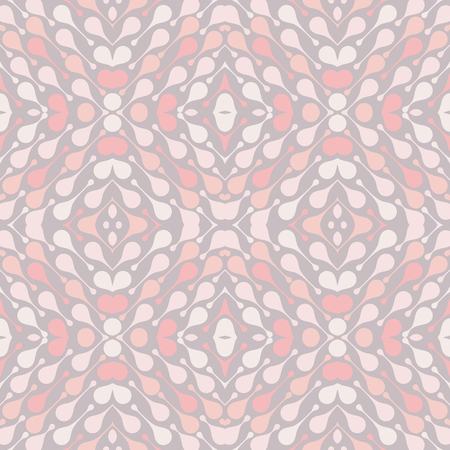 Pale drops on light background. Cozy abstract vector seamless pattern for textile, prints, wallpaper etc. Available in EPS format.