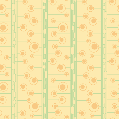 Geometric natural seamless pattern. Vector abstract ornament for textile, wrapping paper, fabric, wallpaper, web, etc.