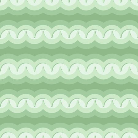 Vector seamless pattern with waves. Retro abstract dark ornament for textile, prints, wallpaper, wrapping paper, web etc.