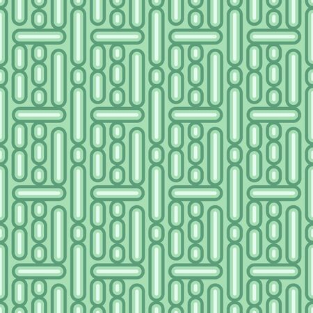 Vector seamless pattern with lines and dots. Simple retro abstract geometric ornament for textile, prints, wallpaper, wrapping paper, web etc.