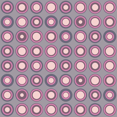 Abstract repeated dots. Flat, retro geometric design. Vector spotty seamless pattern for textile, wallpaper, wrapping paper, prints, fabric, web background or other accent etc.