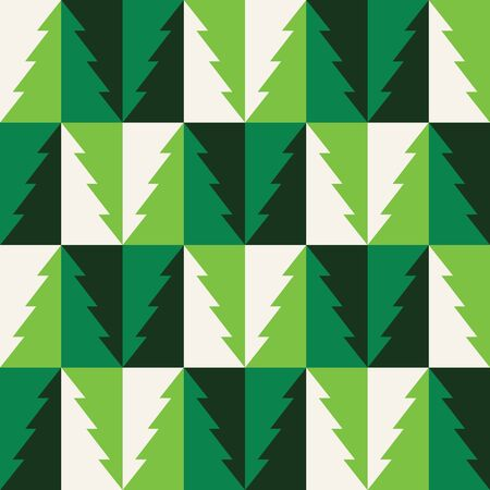 Colorful christmas seamless pattern. Repeated flat Xmas symbols. Simple vector composition for textile, wallpaper, wrapping paper, prints, fabric, web background or another accent etc. Vektoros illusztráció