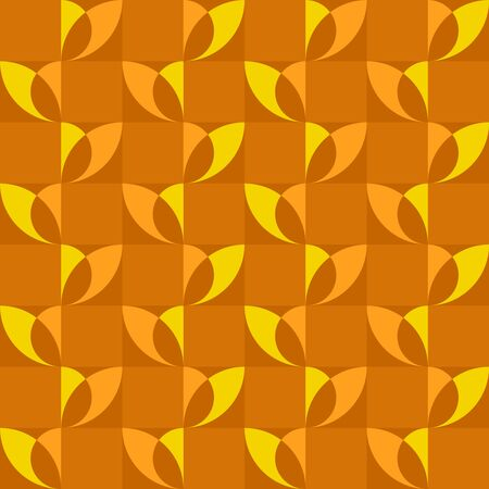 Geometric natural-inspired design. Timeless seamless pattern for textile, wallpaper, wrapping paper, prints, surface design, inlay, parquet, web background or another accent etc. Illustration