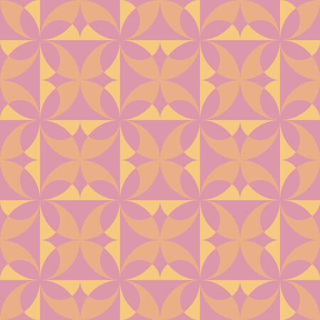 Geometric natural-inspired design. Timeless seamless pattern for textile, wallpaper, wrapping paper, prints, surface design, inlay, parquet, web background or another accent etc. Vektoros illusztráció