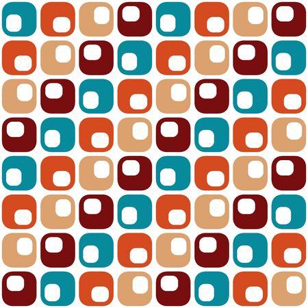 Conception géométrique intemporelle. Modèle sans couture abstrait coloré pour le textile, le papier peint, le papier d'emballage, les impressions, la conception de surface, l'arrière-plan Web ou un autre accent, etc.