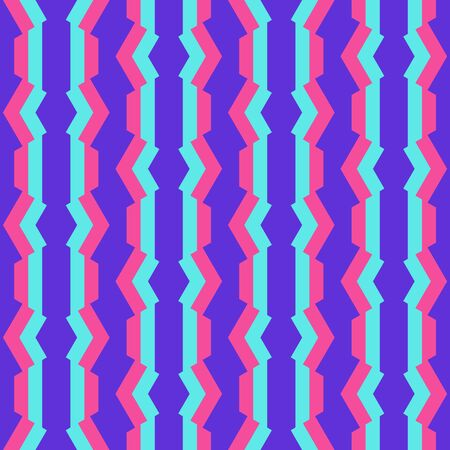 Simple abstract geometric design. Colorful repeated pattern for textile, wallpaper, wrapping paper, prints, surface design, web or another accent etc.