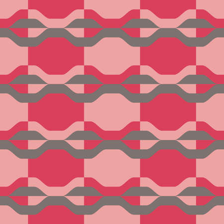 Simple flat seamless pattern will attract attention and transform any surface. Suitable for web, ads, textile, printed goods and for any design project. Illustration