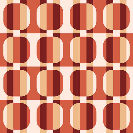 Striped flat geometric pattern for web, ads, textile, printed goods and for any projects. Color gradient will attract attention and transform any surface.