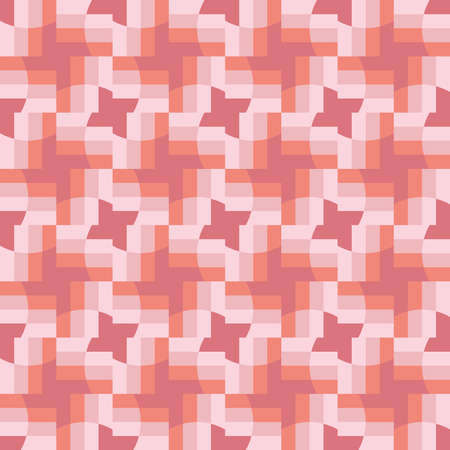 Clear shapes and colors will transform any surface and make it attractive. Seamless pattern for the web, advertising, textiles, printing products, and any design projects.