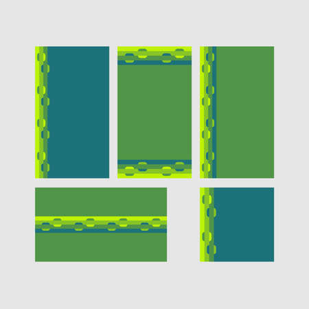 Modern decorative vector frames. Editable design templates for web, social media, promo, ads, banners etc. Banque d'images - 159167539