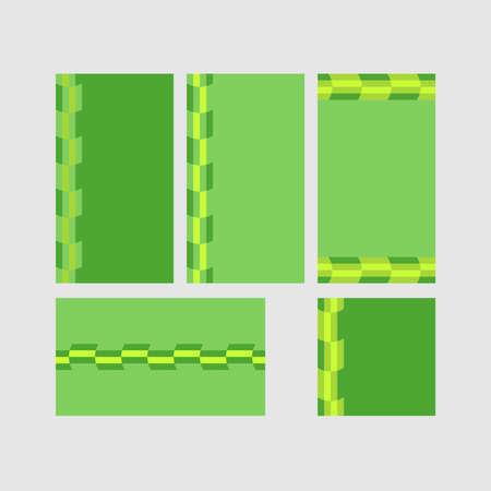 Modern decorative vector frames. Editable design templates for web, social media, promo, ads, banners etc. Banque d'images - 159167515