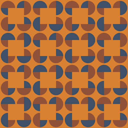 Flat pattern for web, advertising, textiles, printing products, and any design projects. Simple geometric shapes will decorate any surface and make it attractive.