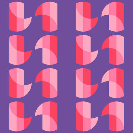 Decorative seamless pattern for web, advertising, textiles, prints or any design projects. Simple geometric shapes can make any surface or thing attractive.