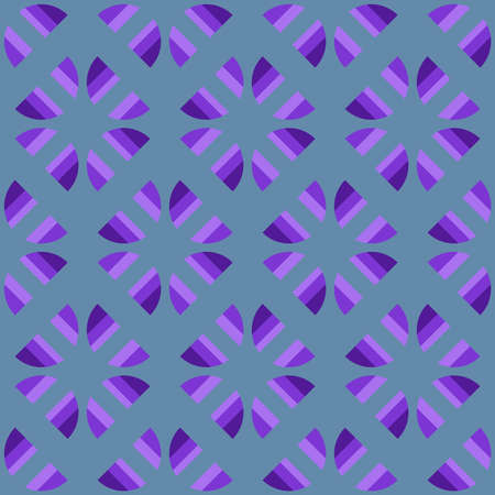 Decorative seamless pattern for web, advertising, textiles, prints or any design projects. Simple geometric shapes can make any surface or thing attractive. Banque d'images - 167002790