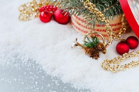Christmas decoration with music mood