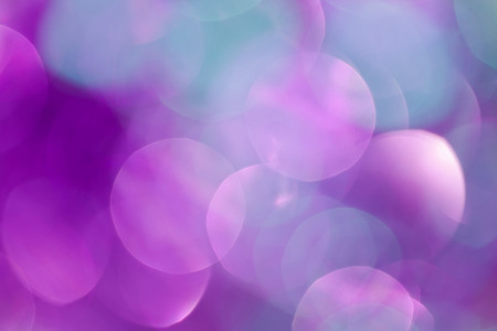 Colorful christmas background, out of focus bokeh