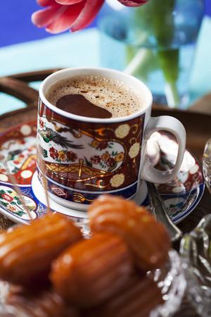 yufka: Turkish coffee with sweets