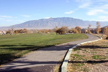 Golf Cart Path and Fairway