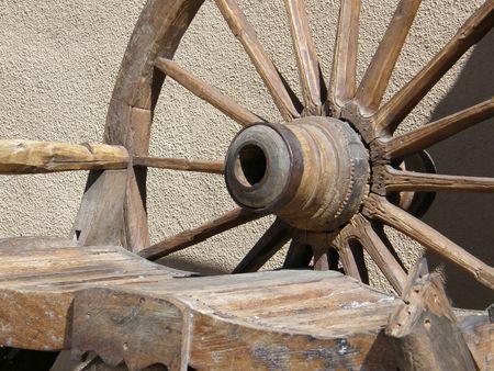 carreta madera: Wagon Wheel de madera