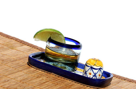bartend: Tequila  Stock Photo