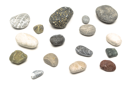 Pebbles isolated.