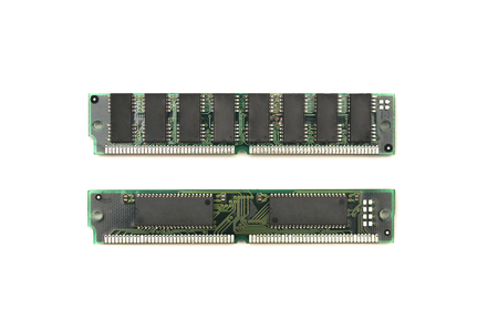 Computer memory modules isolated. Stock Photo