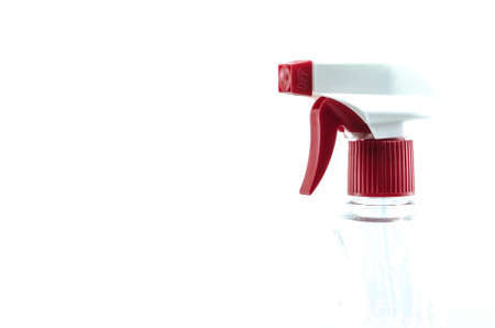 Sprayer isolated on white background close up.